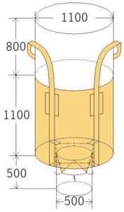 中古フレコンバッグ OW-105