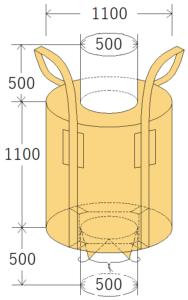 中古フレコンバッグ OW-107