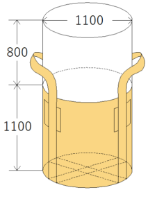 中古フレコンバッグ OW-110