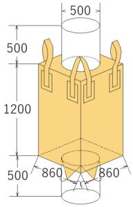 中古フレコンバッグ OW-112