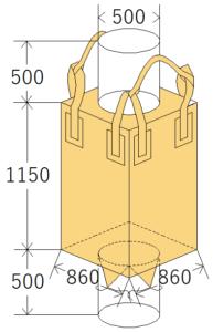 中古フレコンバッグ OW-113