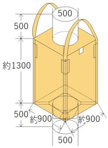 中古フレコンバッグ OW-120
