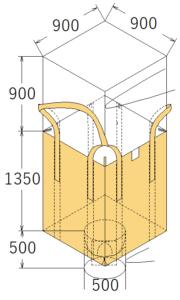 中古フレコンバッグ OW-123