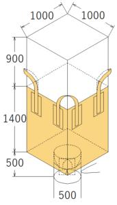 中古フレコンバッグ OW-125
