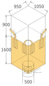 中古フレコンバッグ OW-126