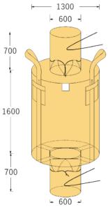 フレコンバッグ 2000Lフレコン